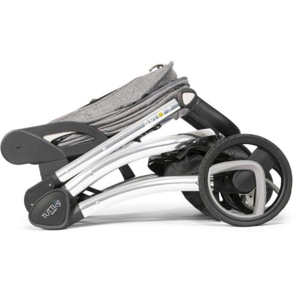 Tutti Bambini Arlo Chrome 3 in 1 Travel System Charcoal