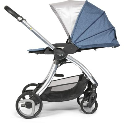 Tutti Bambini Arlo Chrome Travel System Midnight Blue
