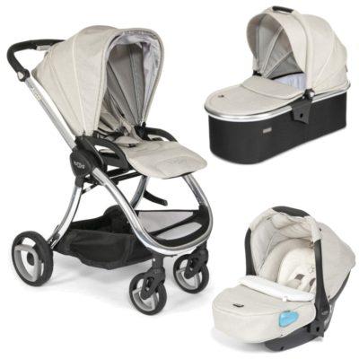 Tutti Bambini Arlo Chrome 3 in 1 Travel System- Oatmeal