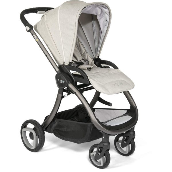 Arlo Charcoal 3 in 1 Travel System- Oatmeal
