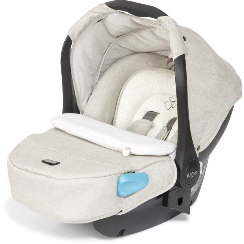Tutti Bambini Arlo Chrome 3 in 1 Travel System Oatmeal