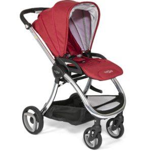 Tutti Bambini Arlo Chrome 3 in 1 Travel System-Poppy
