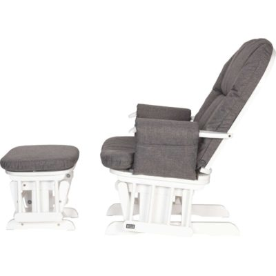 Tutti Bambini Daisy Deluxe Reclining Glider Chair Amp Stool