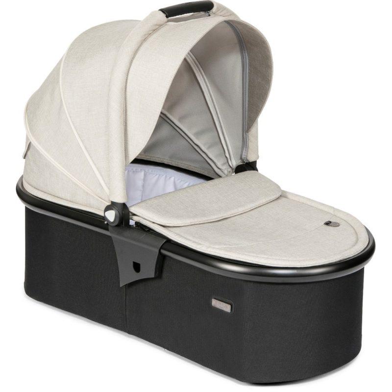 Tutti Bambini Koji Black 3 in 1 Travel System-Oatmeal