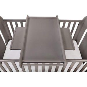 Tutti Bambini Universal Cot Top Changer - Cool Grey