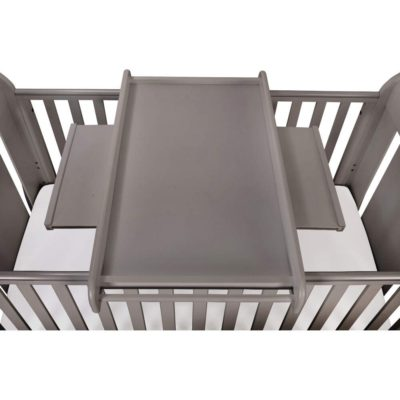 Tutti Bambini Universal Cot Top Changer - Cool Grey