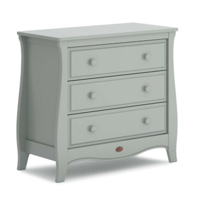 Boori Sleigh 3 Drawer Dresser Smart Assembly - Pebble