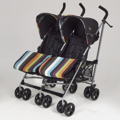 Kids Kargo Twin Stroller - Candy
