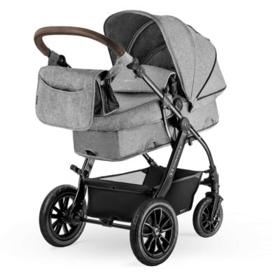 Kinderkraft Moov Travel System - Melange Grey