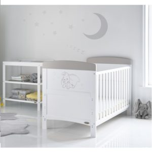 obaby disney dumbo 2 piece nursery room set don't just fly