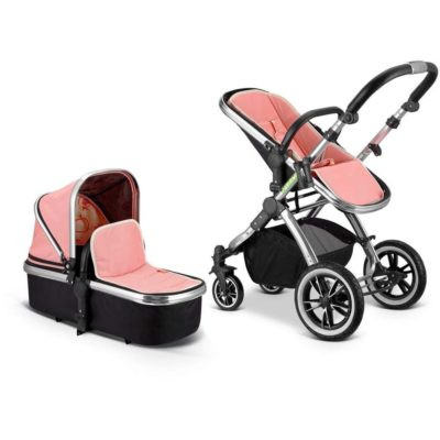2 in 1 iVogue Pram System - Peach