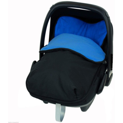Baby Travel BuddyJet Car Seat Footmuff black navy