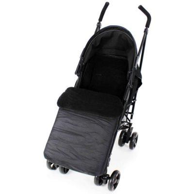 Baby Travel Footmuff - Black