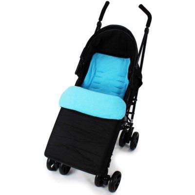 Baby Travel Footmuff - Black1Ocean