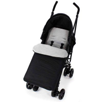 Baby Travel Footmuff - BlackGrey
