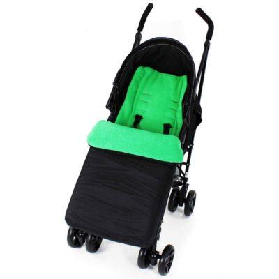Baby Travel Footmuff - BlackLeaf