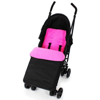 Baby Travel Footmuff - BlackRaspberry