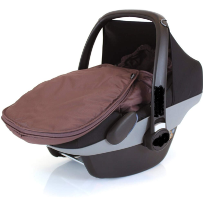 Baby Travel Universal Car Seat Footmuff Hot Chocolate