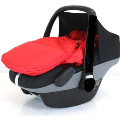 Baby Travel Universal Car Seat Footmuff (Warm Red)