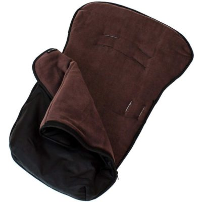 Buddy Jet Car Seat Footmuff Black Hot Chocolate