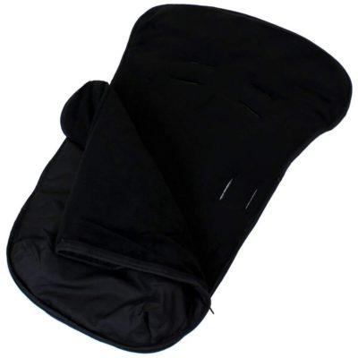 Buddy Jet Car Seat Footmuff - Black