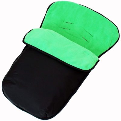 Buddy Jet Car Seat Footmuff - BlackLeaf