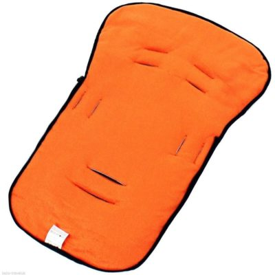 Buddy Jet Car Seat Footmuff BlackOrange