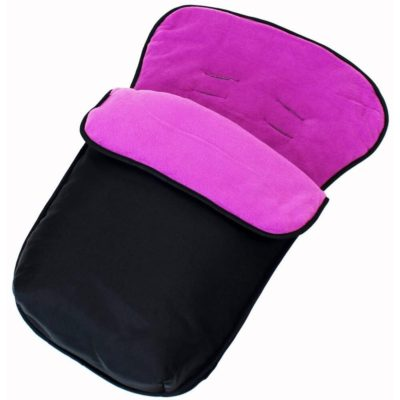 Buddy Jet Car Seat Footmuff - BlackPlum