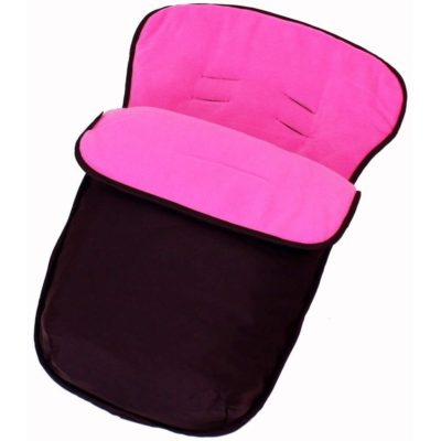 Buddy Jet Car Seat Footmuff - BlackRaspberry