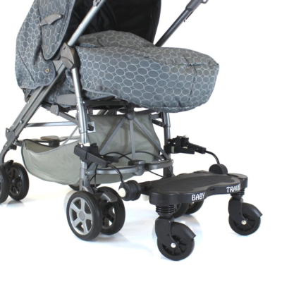 Buggy Pram Board - Grey Logo