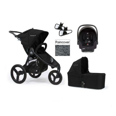 Bumbleride Speed Travel System - Matte Black