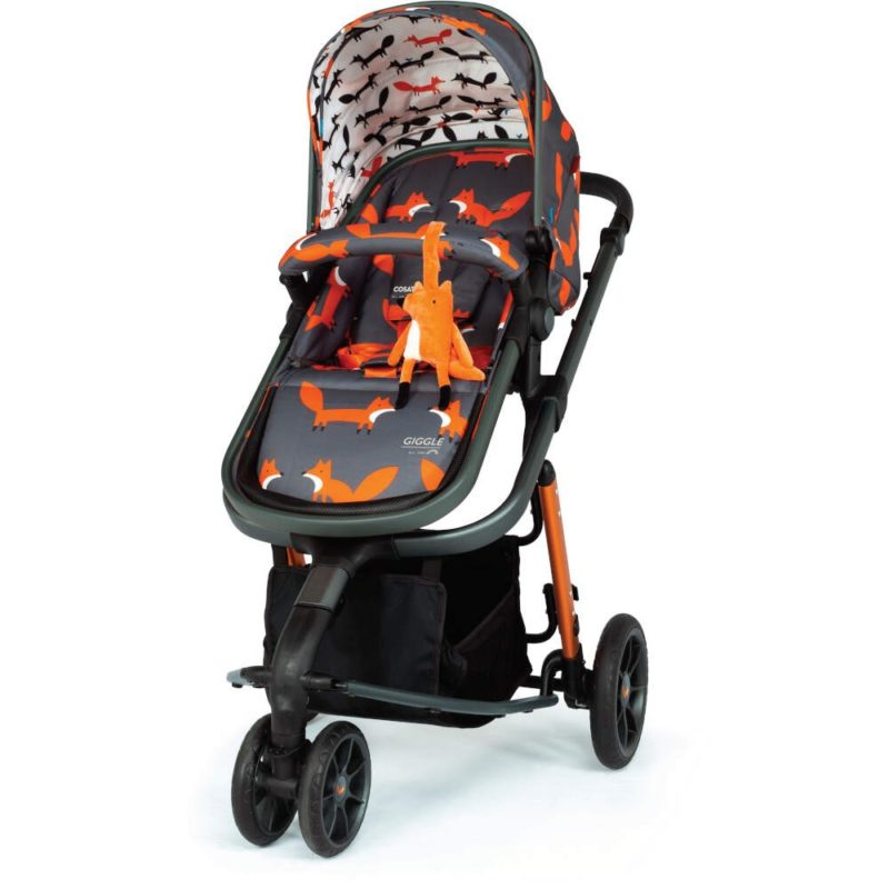 Cosatto Giggle 3 Pram and Pushchair Charcoal - Mister Fox
