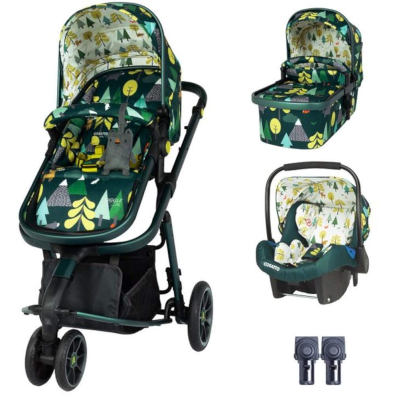 Cosatto Giggle 3 Travel System Bundle - Into The Wild