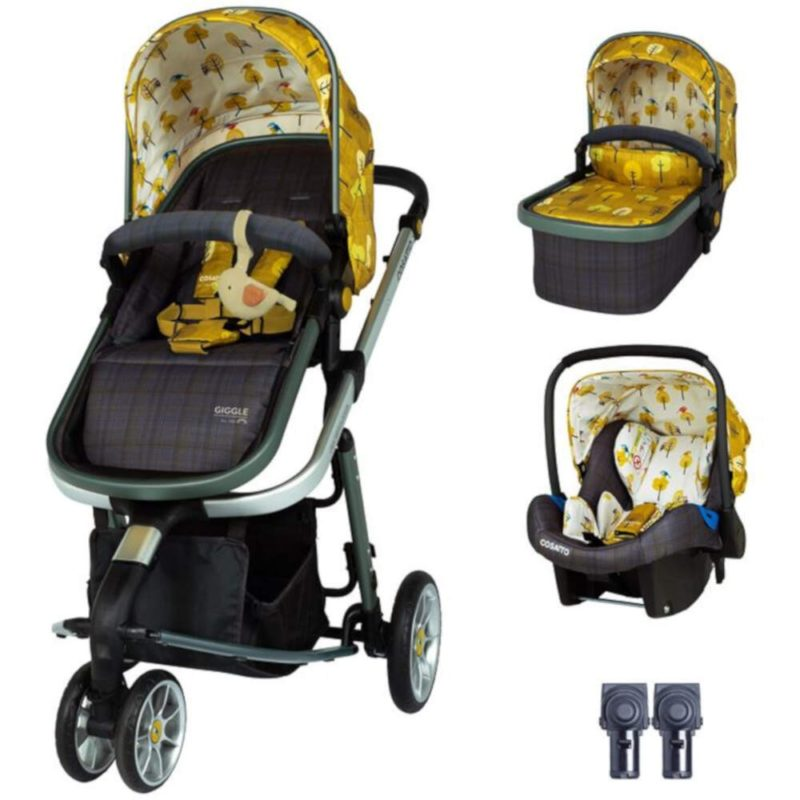Cosatto Giggle 3 Travel System Bundle - Spot the Birdie