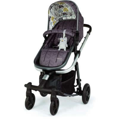 Cosatto Giggle Quad Pram and Pushchair Charcoal - Fika Forest