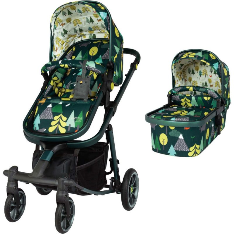 Cosatto Giggle Quad Pram and Pushchair Charcoal - Into the Wild
