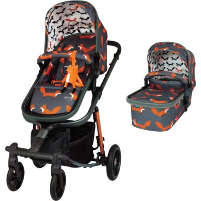 Cosatto Mister Fox Giggle Quad Pram and Pushchair