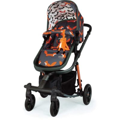 Cosatto Giggle Quad Pram and Pushchair Charcoal - Mister Fox
