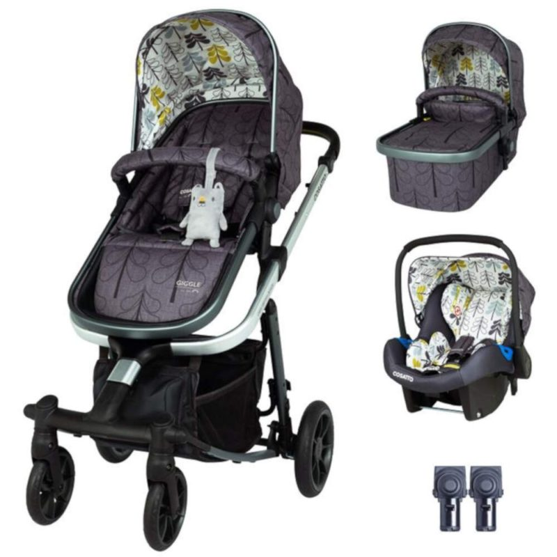 Cosatto Giggle Quad Travel System Bundle - Fika Forest