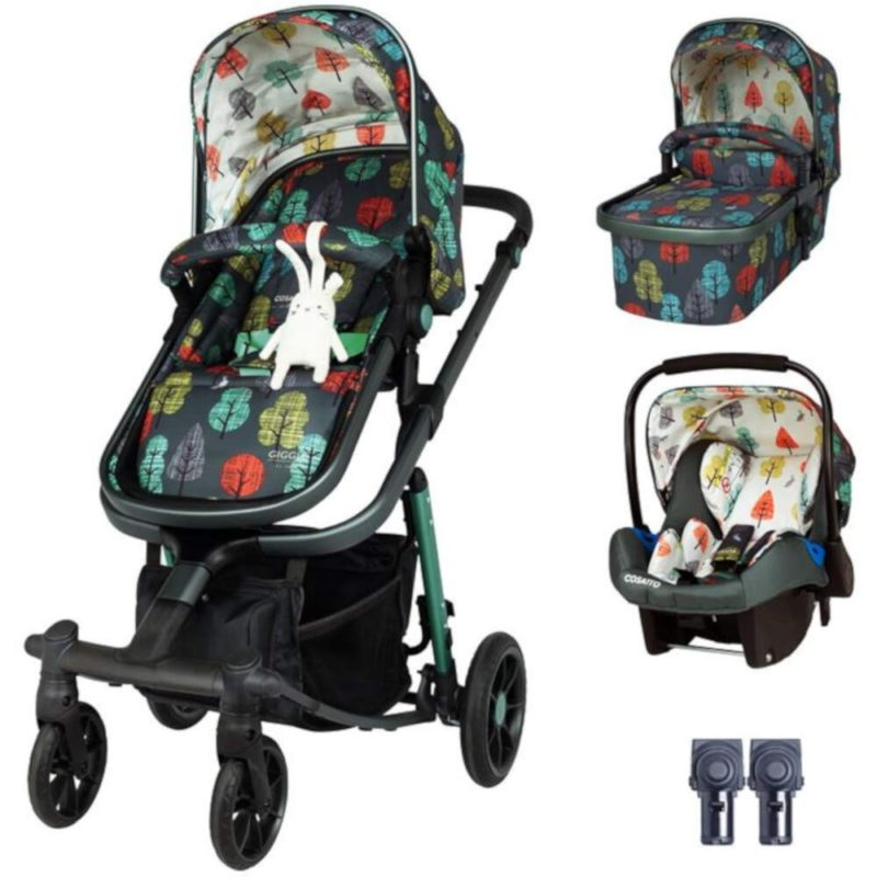 Cosatto Giggle Quad Travel System Bundle - Hare wood