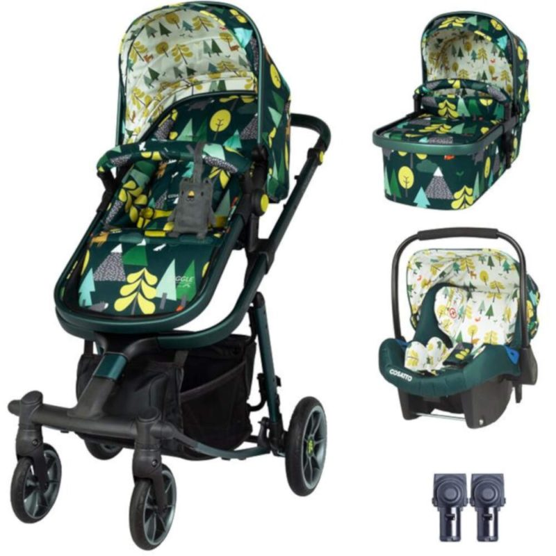 Cosatto Giggle Quad Travel System Bundle - Into the Wild