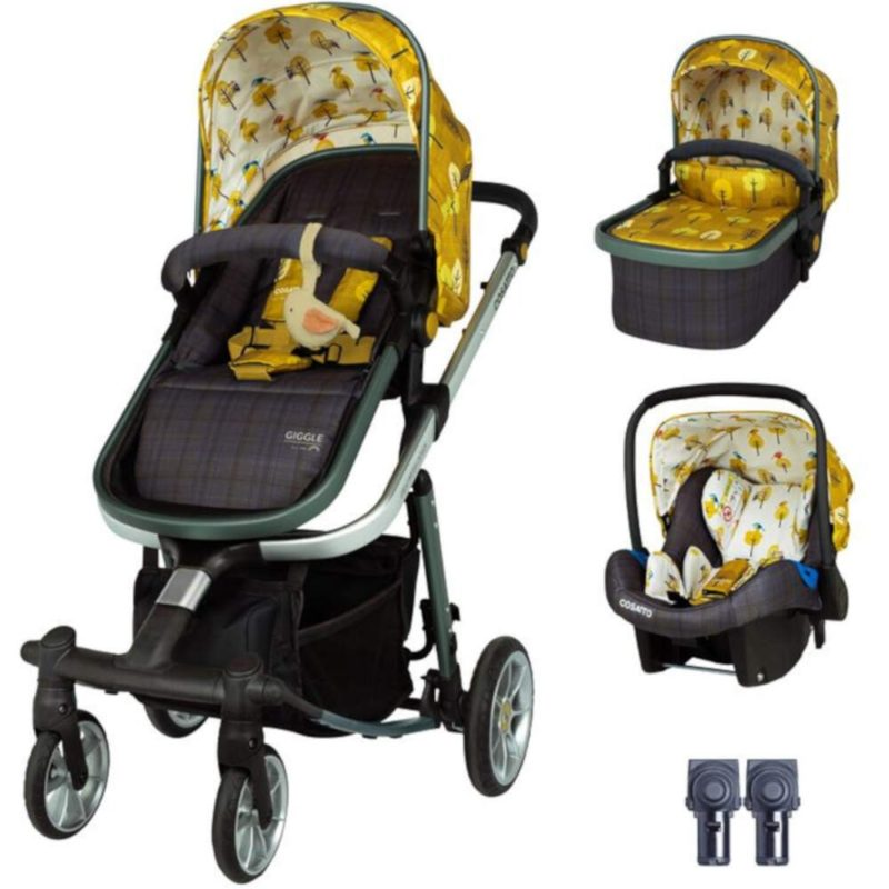 Cosatto Giggle Quad Travel System Bundle - Spot the Birdie