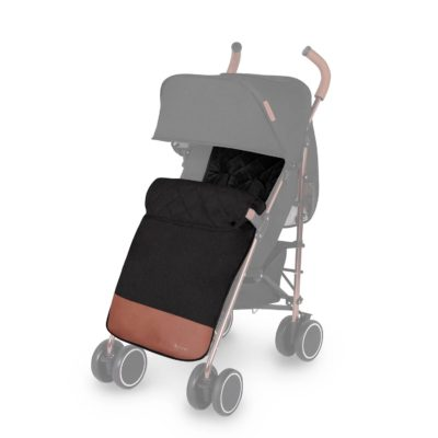 Ickle Bubba Discovery Footmuff & Seat Liner - Black