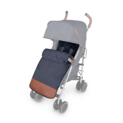 Ickle Bubba Discovery Footmuff & Seat Liner - Denim Blue