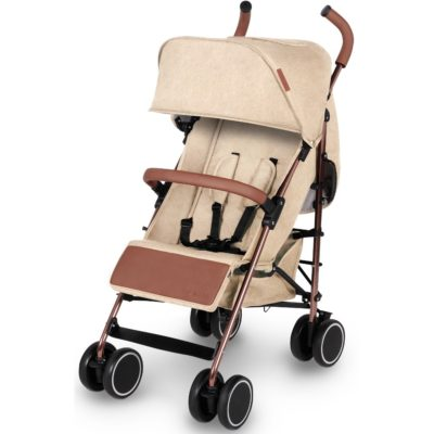 Ickle Bubba Discovery Prime Stroller - Sand on Rose Gold 2