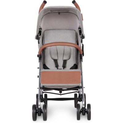Ickle Bubba Discovery Stroller - Grey on Silver Frame 2