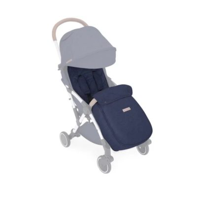 Ickle Bubba Globe Footmuff & Seat Liner - Denim Blue