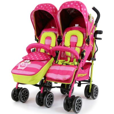 OPTIMUM Twin Stroller - Mea Lux