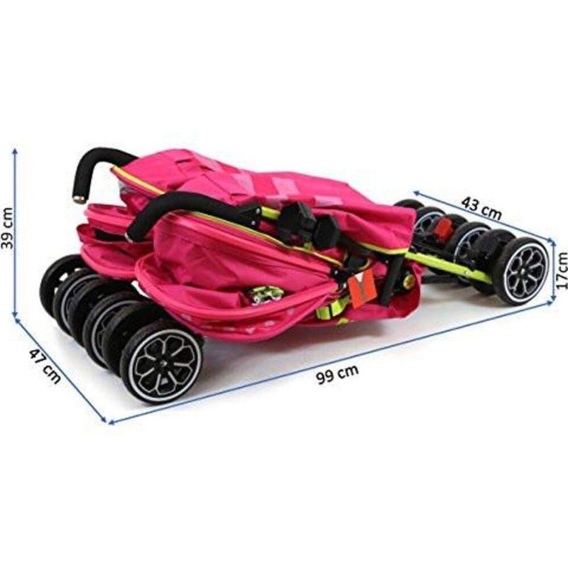 OPTIMUM Twin Stroller - Mea Lux