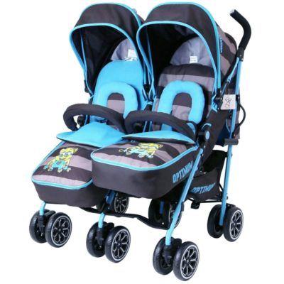 OPTIMUM Twin Stroller - iDiD iT